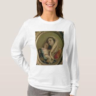 T-shirt Madonna avec l'enfant de sommeil, 1780s