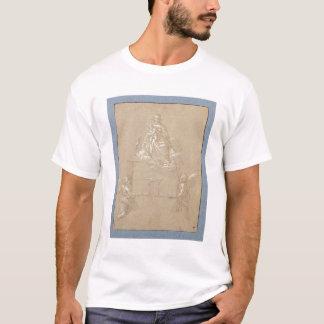 T-shirt Madonna de Loreto (à l'encre)