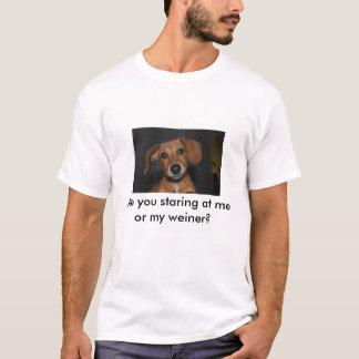T-shirt Maggie, regardez-vous fixement moi ou mon weiner ?