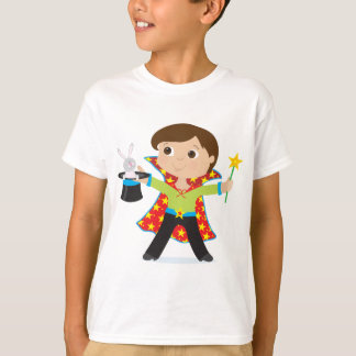 T-shirt Magicien de garçon