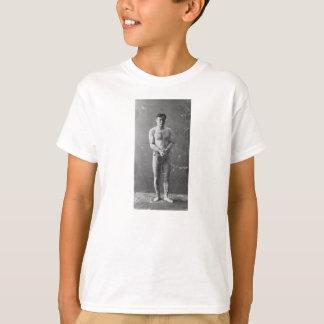T-shirt Magicien Harry Houdini se tenant dans les chaînes