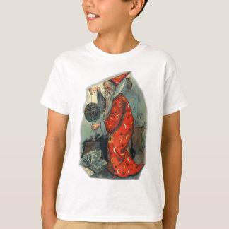 T-shirt Magicien - monde par une ficelle