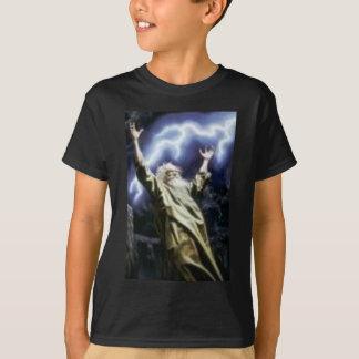 T-shirt Magicien noir