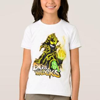 T-shirt Magiciens Warlock jaune - SOLIDES TOTAUX de