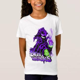 T-Shirt Magiciens Warlock pourpre - bébé de Digitals de