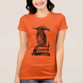 T-shirt Magie de Halloween de hibou de sorcellerie