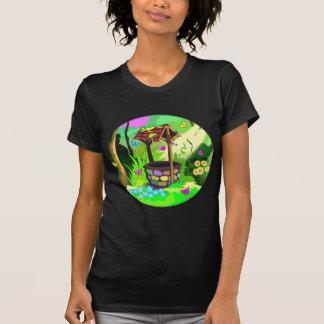 T-shirt Magie souhaitant à papillons ensoleillés bons de