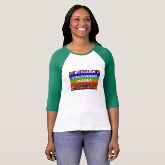 T-shirt Maging correct d'ANG de lang de Na d'araw de mga