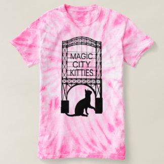 T-shirt magique de minous de ville