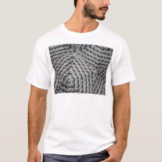 T-shirt Maille argentée