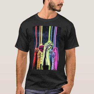 T-shirt Mains dans le ciel avec des anneaux - couleur