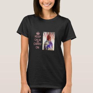 T-shirt Maintenez calme et continuez Big Ben