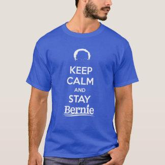 T-shirt Maintenez calme et séjour Bernie