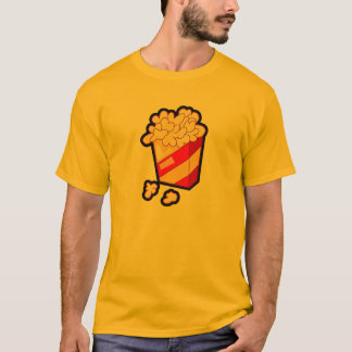 T-shirt Maïs éclaté jaune-orange