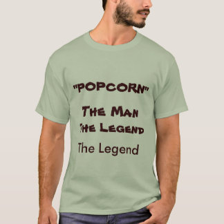 """T-shirt """"MAÏS ÉCLATÉ"""", la légende, l'homme, la légende"""