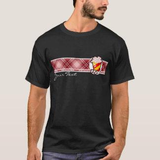 T-shirt Maïs éclaté rouge de plaid