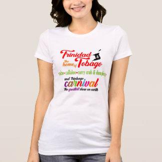 T-shirt Maison du Trinidad et du Tobago-le… de 3 (lumière)