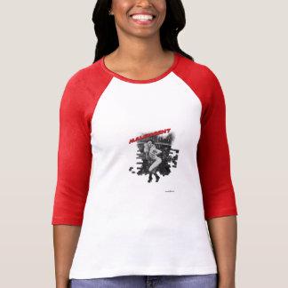 T-shirt maléfique de femme de Martini