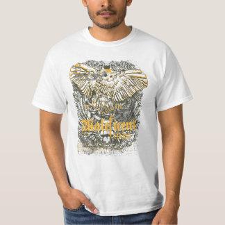 T-shirt maléfique de grunge de hibou