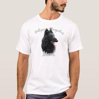 T-shirt Maman belge 2 de chien de berger