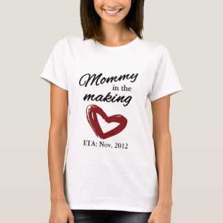 T-shirt Maman dans la fabrication