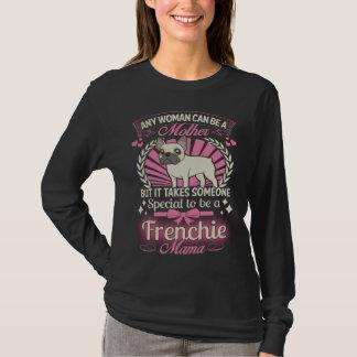 T-shirt Maman de bouledogue français
