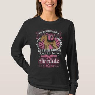 T-shirt Maman de chien d'Airedale