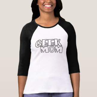 T-shirt Maman de geek