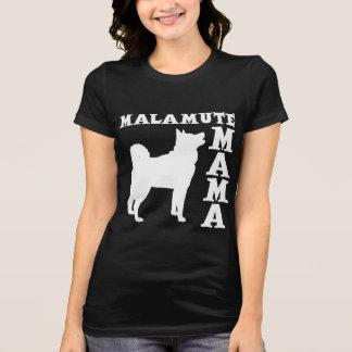 T-SHIRT MAMAN DE MALAMUTE
