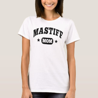 T-shirt Maman de mastiff