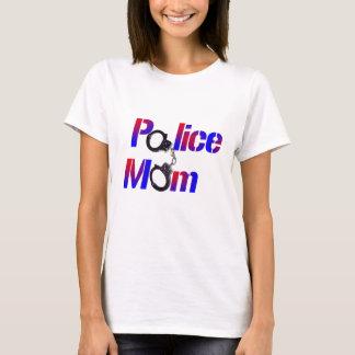 T-shirt Maman de police