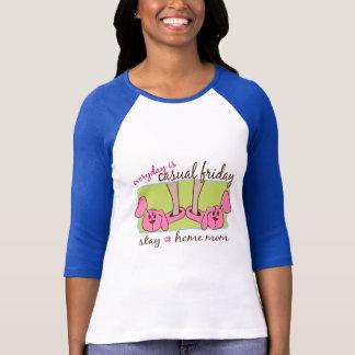 T-shirt Maman de séjour à la maison