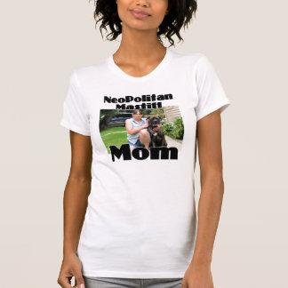 T-shirt Maman du cyclone 39 de mastiff de Neopolitan