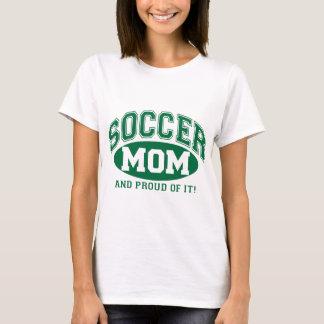 T-shirt Maman du football et fier de lui ! - Vert