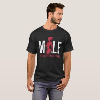 T-shirt Mamans de Milf dans l'amour avec la forme physique