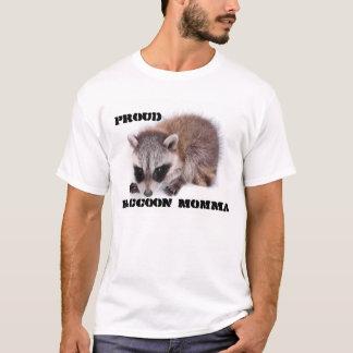 T-shirt Mamans fières de raton laveur