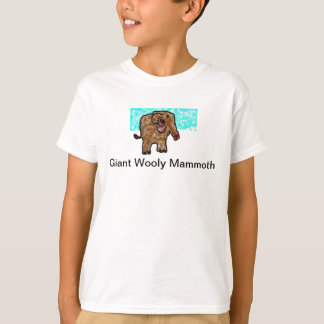 T-shirt Mammouth Wooly géant