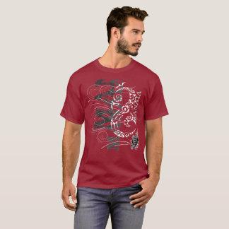 T-shirt Manaia - gardien (écriture rouge)
