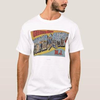 T-shirt Manasquan, New Jersey - grandes scènes de lettre
