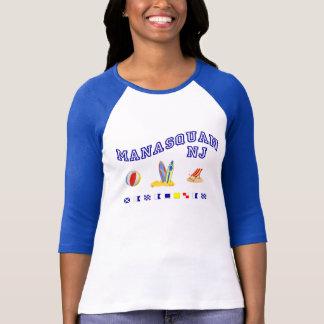 T-shirt Manasquan NJ - Orthographe maritime