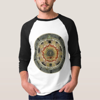 T-shirt Mandala alchimique de rose cosmique
