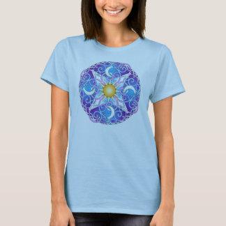 T-shirt Mandala céleste