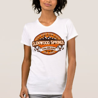 T-shirt Mandarine de chemise de logo de Glenwood