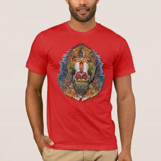 T-shirt Mandrill coloré