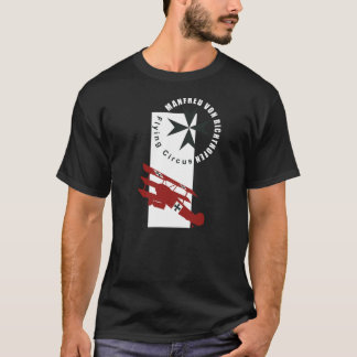 T-shirt manfred Bonn richthofen baron rouge