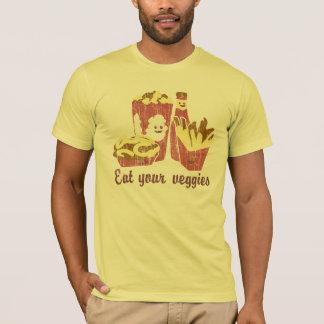 T-shirt Mangez de votre légume