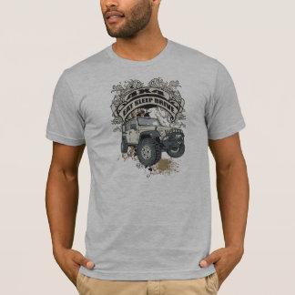 T-shirt Mangez, dormez, conduisez 4x4
