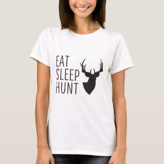 T-shirt Mangez la chasse à sommeil
