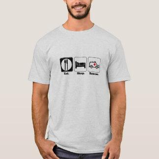 T-shirt mangez la délivrance de sommeil
