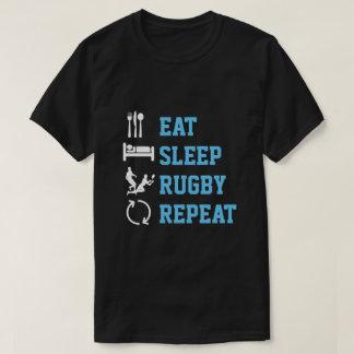 T-shirt Mangez la version d'obscurité de sport de